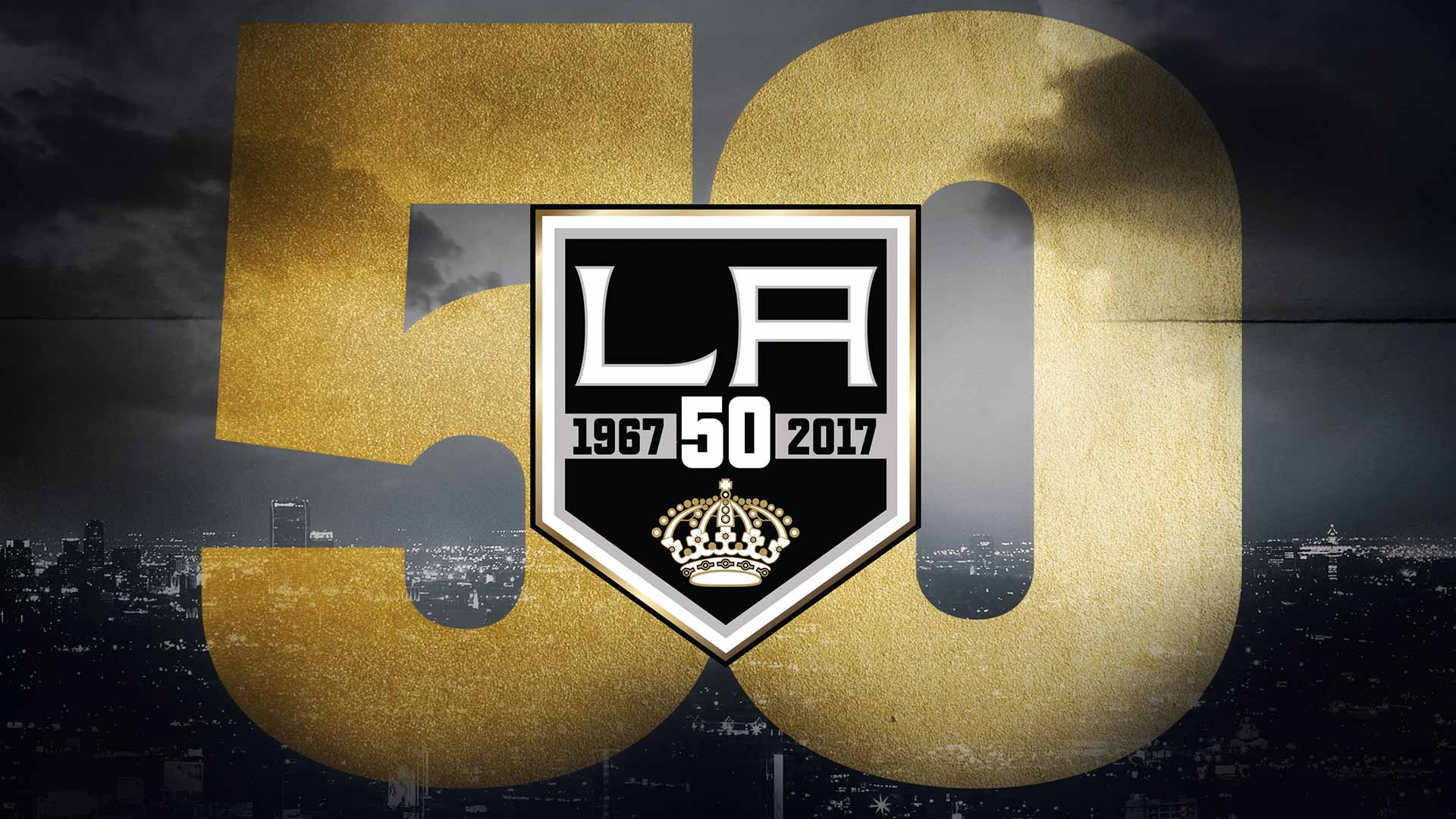 LA Kings 50th Logo